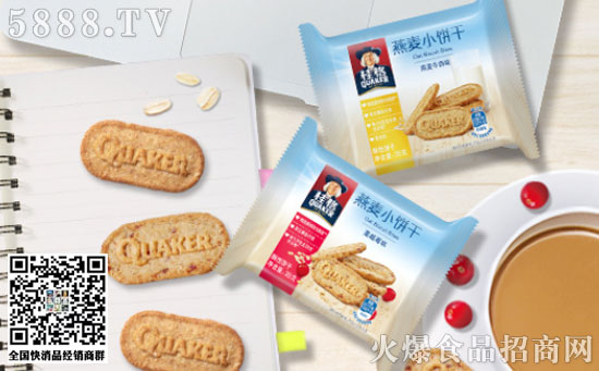 桂格燕麦小饼干