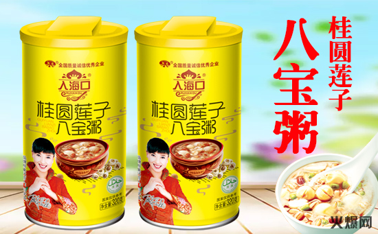 鹤园桂圆莲子八宝粥,用心做好每一碗粥!