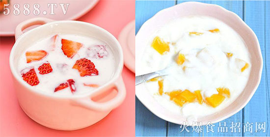 八旗牧场风味酸奶
