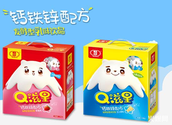 旺仔Q滋星发酵乳味饮品