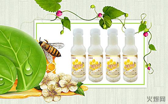 一款时尚健康的饮品,全乐美蜂蜜米露市场前景被十分看好!