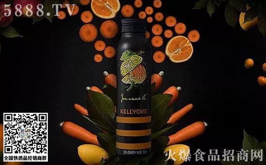 宗馥莉策划的NFC果汁品牌KELLYONE