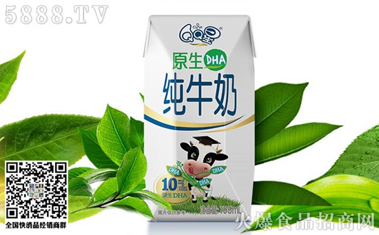 伊利QQ星原生DHA纯牛奶