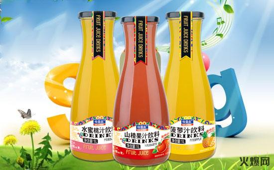 格蕾美瓶装果汁系列――鲜、味、美!