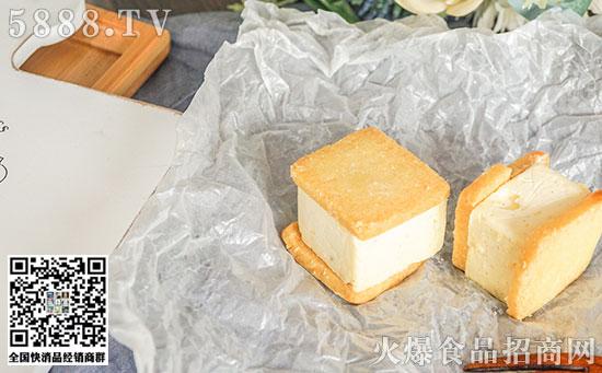浅茶家香草乳酪-夹心芝士饼干