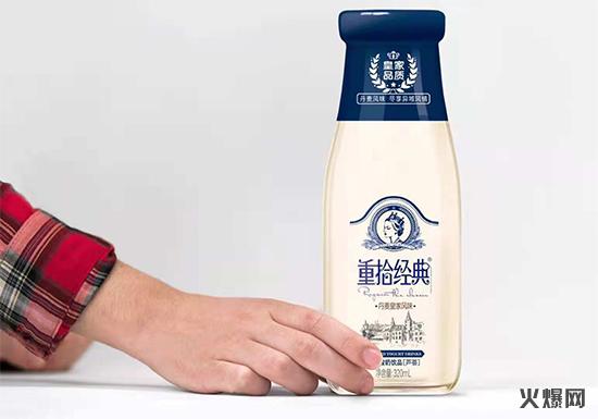 重拾经典玻璃瓶酸奶