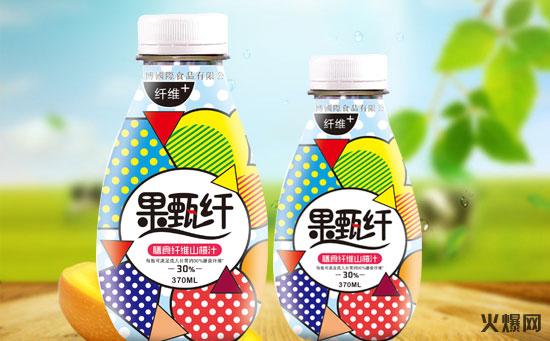 果甄纤膳食纤维山楂汁