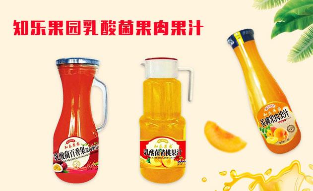 知乐果园乳酸菌果肉果汁
