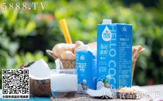 HelloCoco椰子汁饮料价格