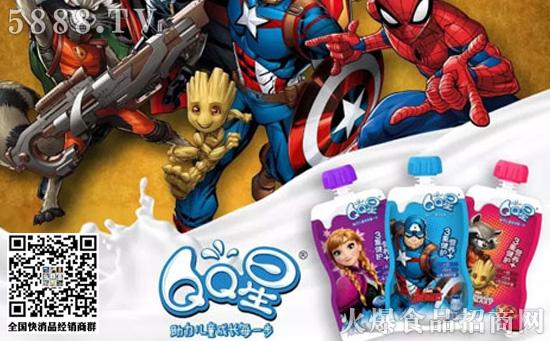 伊利QQ星儿童酸奶饮品