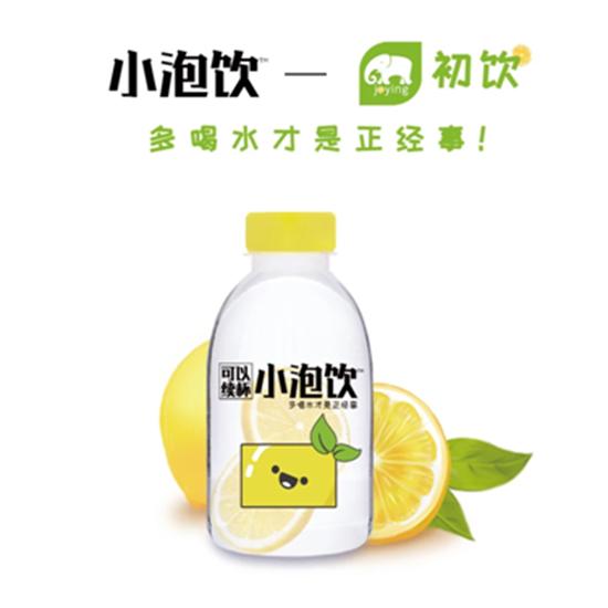 一瓶有两片新鲜柠檬,还可以续杯的柠檬饮料!