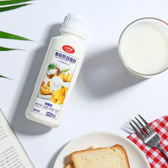 麦那特果粒奶昔酸奶