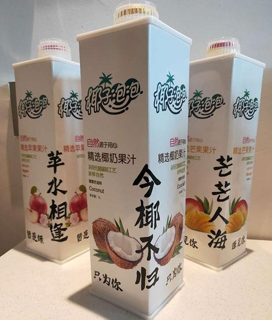 椰子泡泡1L系列产品