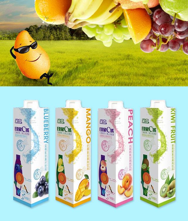 印象C域复合果汁饮料