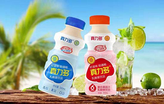 果汁邂逅乳酸菌,真力多复合果蔬汁乳酸菌饮品,高额利润,让经销商赚钱更简单!