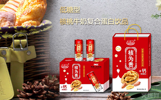 引爆市场,再出佳作!卫邦核为贵核桃牛奶复合蛋白饮品迎中秋、备国庆、战春节!