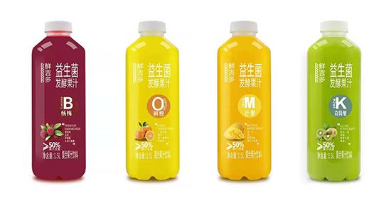 鲜吉多益生菌发酵果汁