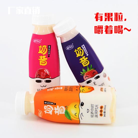 香格利果粒奶昔,可以嚼着喝的果粒奶昔,引领财富商机!