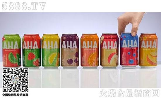 可口可乐新品AHA