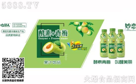 酵素-+-青梅果汁饮品