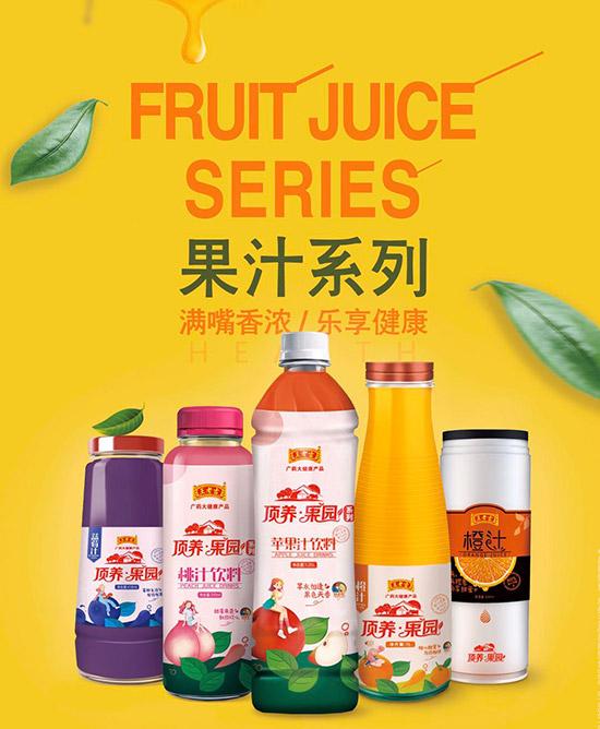 王老吉系列果汁饮料