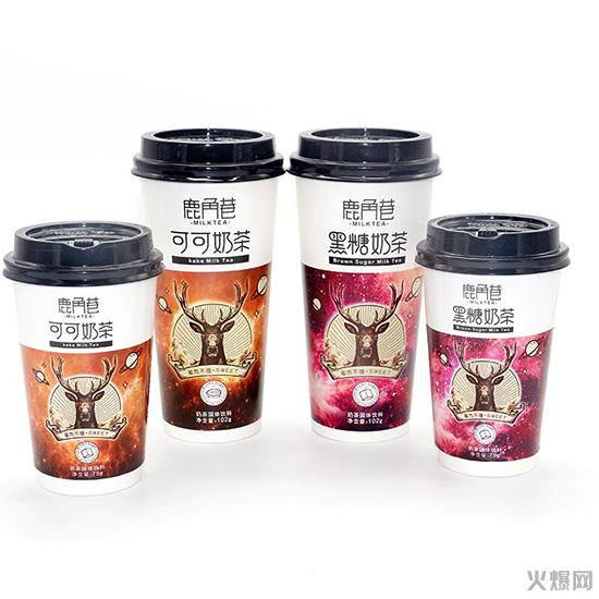 年赚600亿的奶茶市场,鹿角巷奶茶又怎能错过!