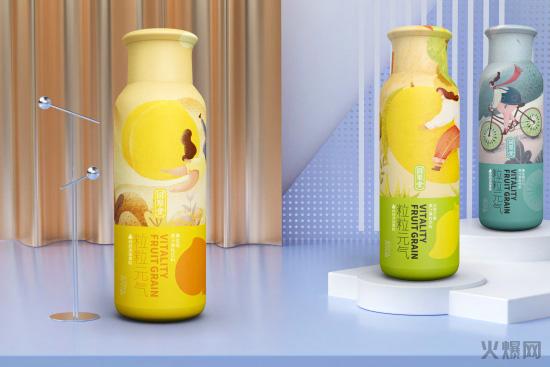 粒粒元气果汁果粒饮料强势崛起受经销商广泛关注!