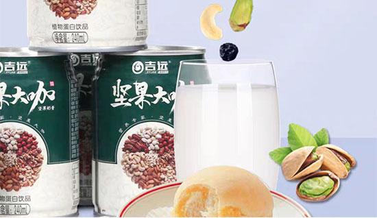 吉远坚果大咖植物蛋白饮品240ml