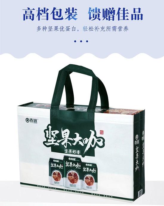 吉远坚果大咖植物蛋白饮品礼盒