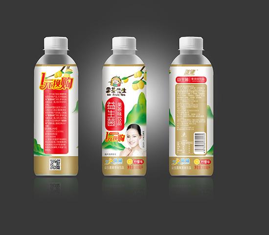 增健果茶先生益生菌果茶味饮品