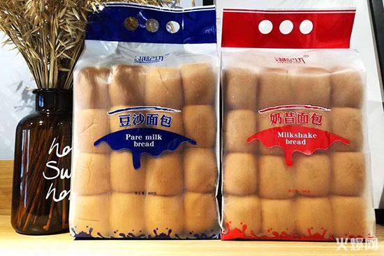 甄记坊豆沙面包