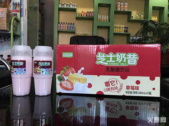 益和源芝士奶昔乳酸菌饮品草莓味