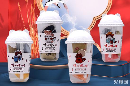 咔诺咔冷泡奶茶