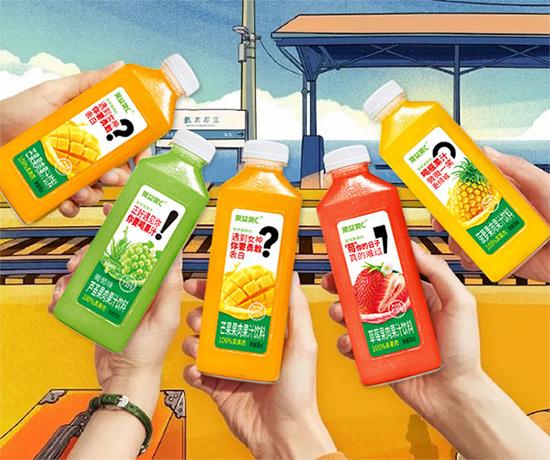 味益纯果肉果汁饮料