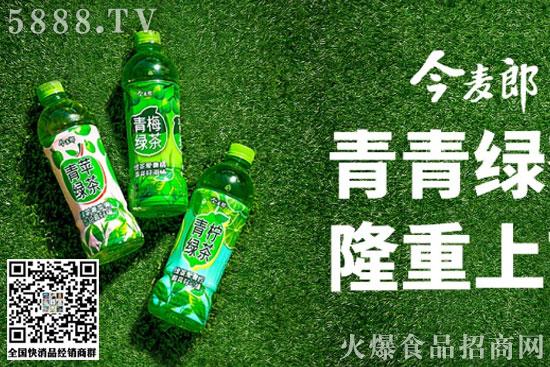 今麦郎绿茶1