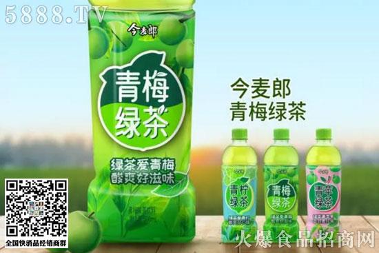 今麦郎绿茶2