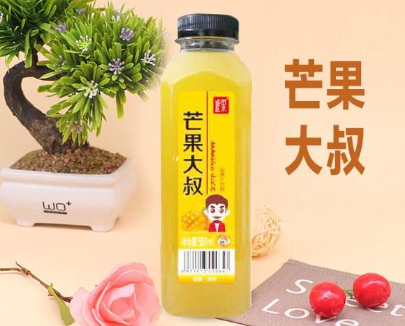 媚果芒果大叔果汁饮料500mlx15瓶