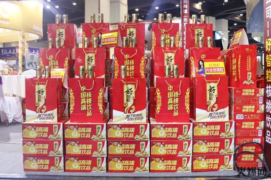 郑州糖酒会好智粒核桃蛋白饮料