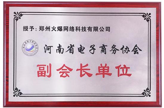 """喜讯!亚虎app客户端下载网被授予""""河南省电子商务协会副会长单位""""!"""