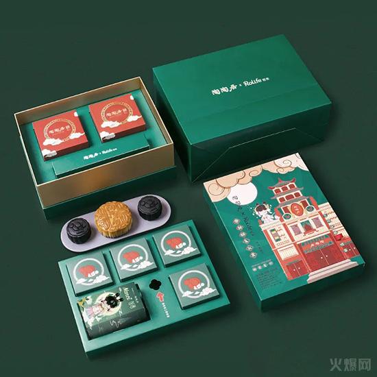 陶陶居140周年限定款月饼礼盒