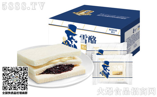 豪士紫米面包