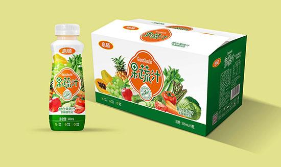 果蔬精华更健康,启硕复合果蔬汁乳酸菌饮品!品质生活,你值得代理!