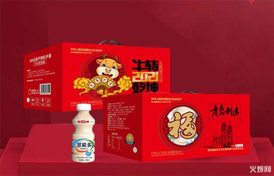 红红火火慧能多乳酸菌饮品新年礼盒装