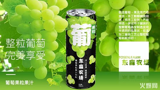 东森农场葡萄果粒果汁