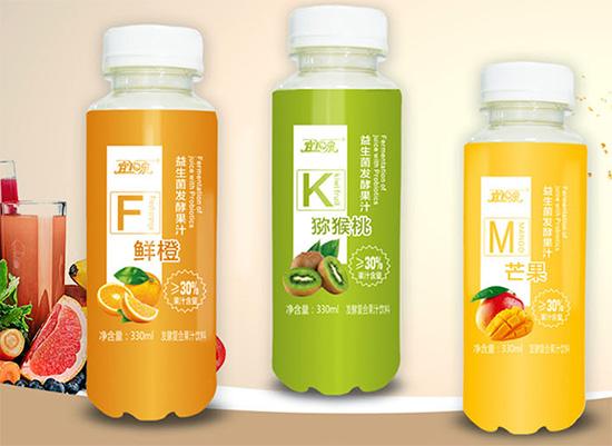 宜泉益生菌发酵果汁