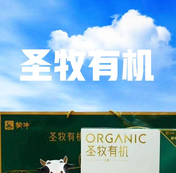 蒙牛圣牧有机纯牛奶