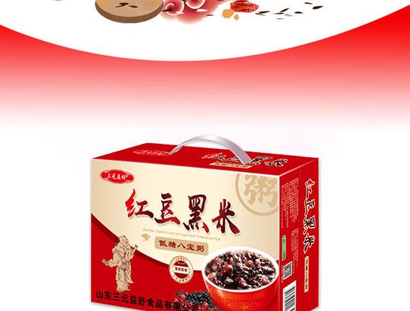 三元益舒红豆黑米低糖八宝粥