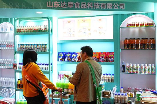 达摩食品盛装亮相成都春糖,品质产品火爆招商!