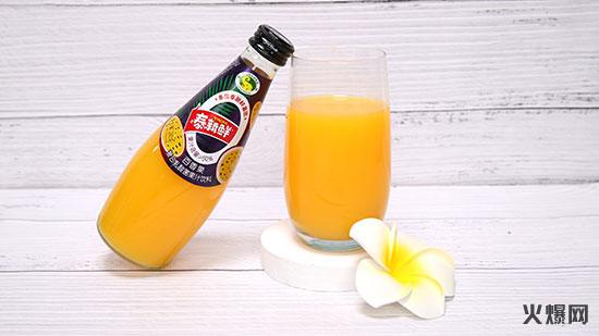 百香果复合乳酸菌果汁饮料