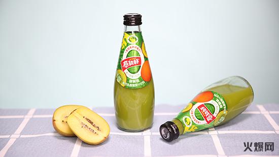 猕猴桃复合乳酸菌果汁饮料